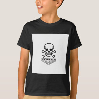poison skull of death T-Shirt