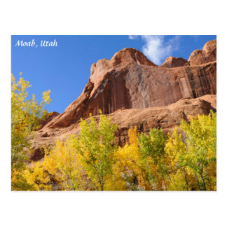 Poison Spider Mesa in the Fall - Moab Postcard