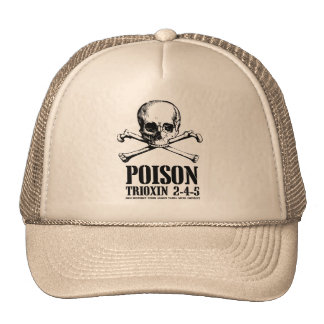 Poison Zombie Trioxin 3-4-5 Dawn of the Dead Cap