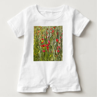 Poisoned Poppies Baby Bodysuit