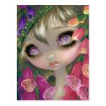 """""""Poisonous Beauties IX:  Foxgloves"""" Postcard"""