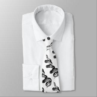 poisonous snake tie
