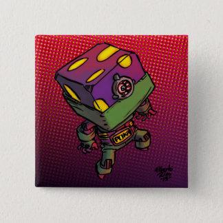 Poka 15 Cm Square Badge