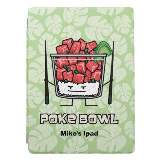 Poke bowl Hawaii raw fish salad chopsticks aku iPad Pro Cover