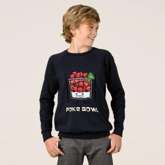 Poke bowl Hawaii raw fish salad chopsticks aku Sweatshirt