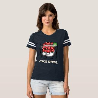 Poke bowl Hawaii raw fish salad chopsticks aku T-Shirt