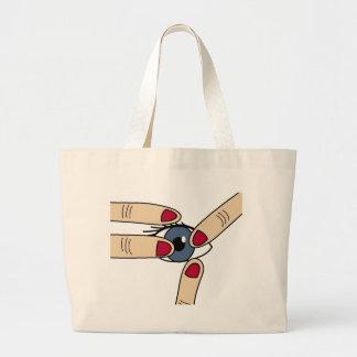 Poke Large Tote Bag