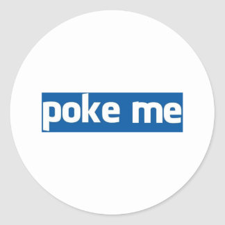 Poke Me Sticker