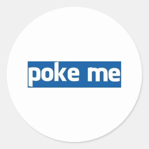 Poke Me Sticker