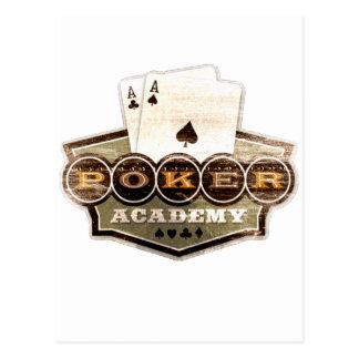 Poker Academy Postcard