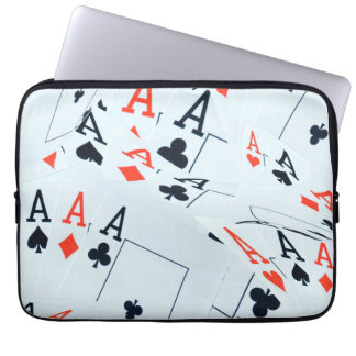 Poker,_Aces,_Cards,_13_inch_Laptop_Sleeve. Laptop Computer Sleeve