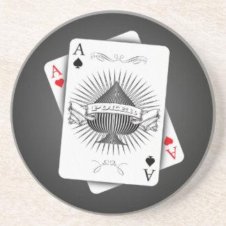 Poker Aces Coaster