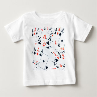 Poker,_Aces,_Pattern,_ Baby T-Shirt