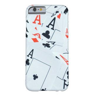 Poker,_Aces,_Tough iPhone 6/6s Case