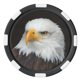 POKER AMERICAN EAGLE - photo Jean Louis Glineur Poker Chips