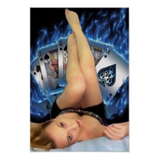 Poker Babe Posters