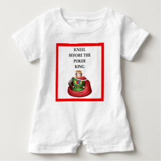 POKER BABY BODYSUIT