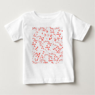 Poker Cards Royal Hearts Flush Pattern, Baby T-Shirt