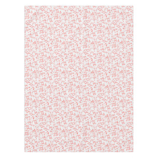 Poker Cards Royal Hearts Flush Pattern, Tablecloth