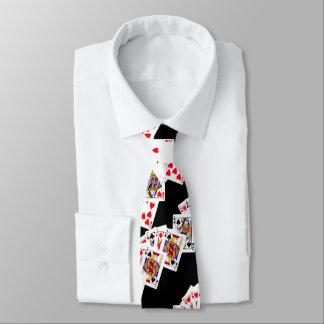 poker cards tie