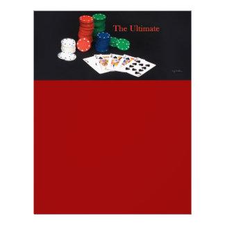 Poker Cards Ultimate 21.5 Cm X 28 Cm Flyer