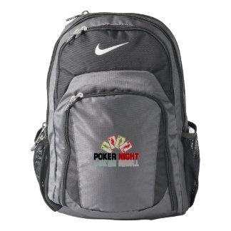 Poker Casino Backpack