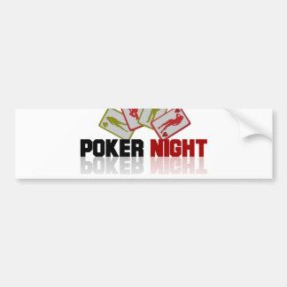 Poker Casino Bumper Sticker