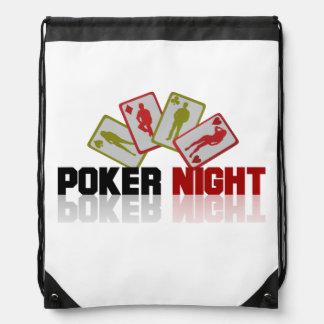Poker Casino Drawstring Bag