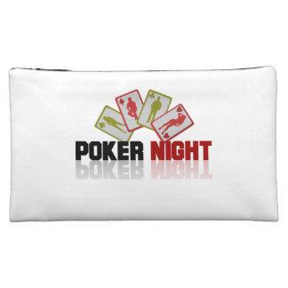Poker Casino Makeup Bags