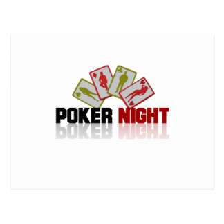 Poker Casino Postcard
