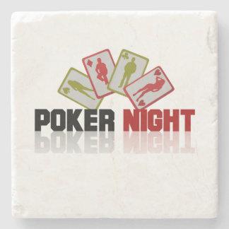 Poker Casino Stone Coaster