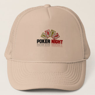Poker Casino Trucker Hat