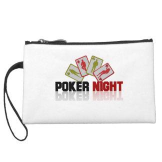 Poker Casino Wristlet Purse