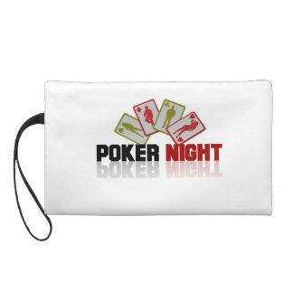 Poker Casino Wristlet Purses