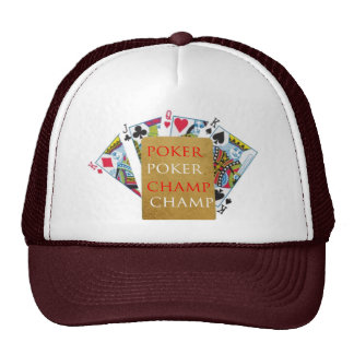 POKER Champion - Art101 Hat