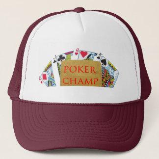 POKER Champion - Art101 Trucker Hat