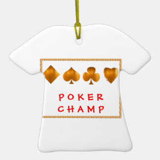 POKER Champion : Giveaway Gifts Christmas Tree Ornament