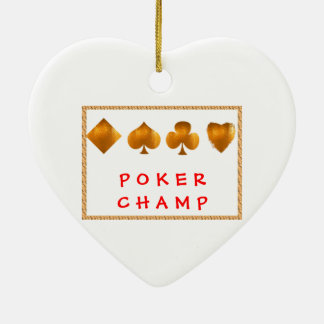 POKER Champion : Giveaway Gifts Christmas Ornament