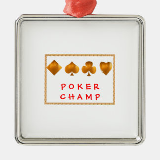 POKER Champion : Giveaway Gifts Christmas Ornaments