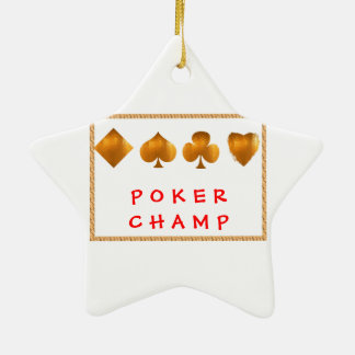 POKER Champion : Giveaway Gifts Ornaments