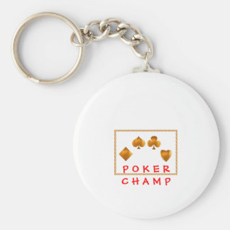 POKER Champion : Giveaway Gifts Keychains
