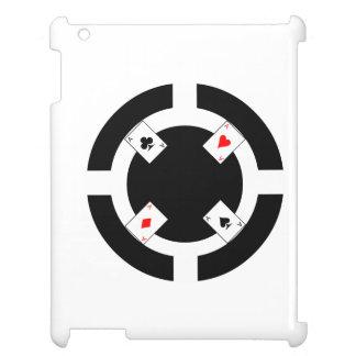 Poker Chip - Black iPad Case