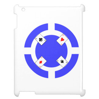 Poker Chip - Blue Cover For The iPad 2 3 4