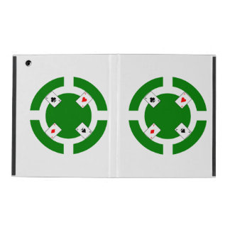 Poker Chip - Green iPad Cover