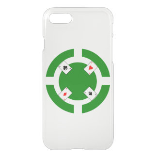 Poker Chip - Green iPhone 7 Case