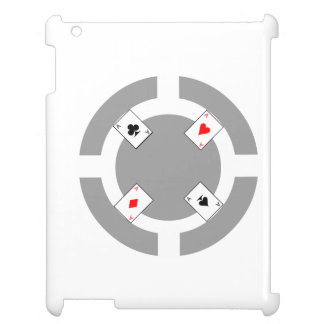 Poker Chip - Grey iPad Cases