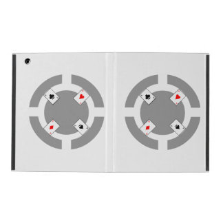 Poker Chip - Grey iPad Cover