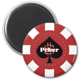 Poker Chip Magnet