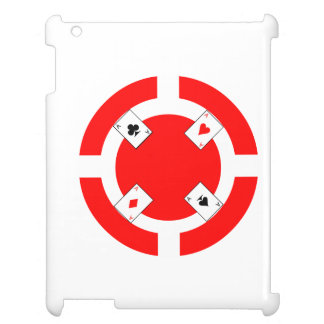Poker Chip - Red Cover For The iPad 2 3 4