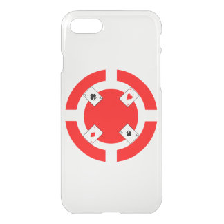 Poker Chip - Red iPhone 7 Case